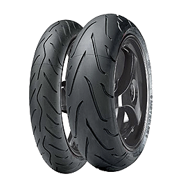 Metzeler Sportec M3 Tire Combo - Metzeler Roadtec Z8 Interact Rear Tire - 160/60ZR17
