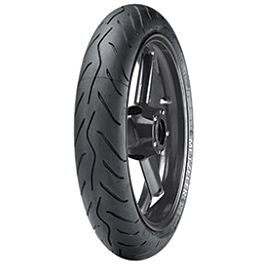 Metzeler Sportec M3 Front Tire - 120/60ZR17 - Metzeler Roadtec Z8 Interact Rear Tire - 190/55ZR17