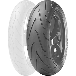 Metzeler Sportec M3 Rear Tire - 190/55ZR17 - Metzeler M5 Sportec Interact Front Tire - 120/60ZR17