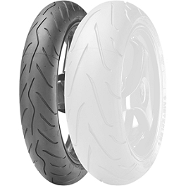 Metzeler Sportec M3 Front Tire - 120/65ZR17 - Michelin Pilot Power Front Tire - 120/65ZR17