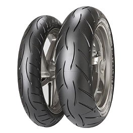Metzeler Sportec M5 Interact Tire Combo - Metzeler Roadtec Z8 Interact Rear Tire - 160/60ZR17
