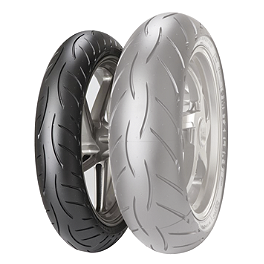 Metzeler M5 Sportec Interact Front Tire - 120/60ZR17 - Metzeler Roadtec Z8 Interact Rear Tire - 150/70ZR17