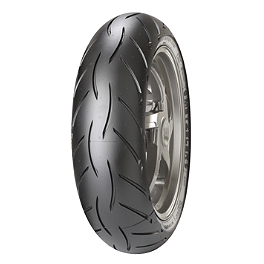 Metzeler M5 Sportec Interact Rear Tire - 190/50ZR17 - Metzeler Sportec M3 Front Tire - 120/70ZR17