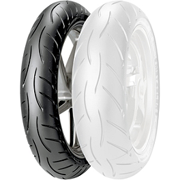 Metzeler M5 Sportec Interact Front Tire - 110/70ZR17 - Metzeler Tourance Rear Tire - 140/80-17H
