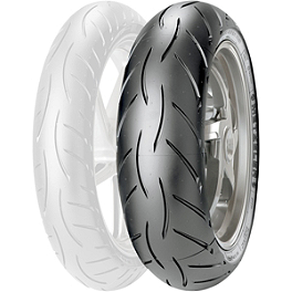 Metzeler M5 Sportec Interact Rear Tire - 180/55ZR17 D-Spec - Metzeler Sportec M3 Front Tire - 120/70ZR17