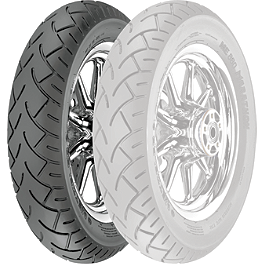 Metzeler ME880 Marathon Front Tire - 120/70ZR19 60W - Metzeler ME880 Rear Tire - Mu85-16B 77H Narrow Whitewall
