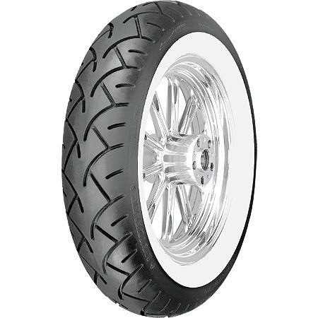 Metzeler ME880 Rear Tire - 170/80-15H 77H Wide Whitewall - Main