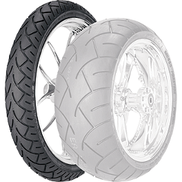 Metzeler ME880 XXL Front Tire - 140/70-18 73H - Metzeler ME880 Rear Tire - 140/90-16 77H Wide Whitewall