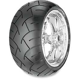 Metzeler ME880 XXL Rear Tire - 150/70-18B 76H - Metzeler ME880 Front Tire - MT90-16B 72H Narrow Whitewall