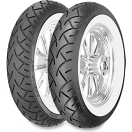 Metzeler ME880 Marathon Tire Combo - Wide Whitewall - Metzeler ME880 Front Tire - MT90-16B 72H Narrow Whitewall