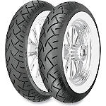 Metzeler ME880 Marathon Tire Combo - Wide Whitewall - Metzeler Cruiser Products