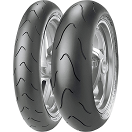 Metzeler Racetec Interact Tire Combo - Metzeler Roadtec Z8 Interact Rear Tire - 150/70ZR17