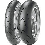 Metzeler Racetec Interact Tire Combo - Motorcycle Tires