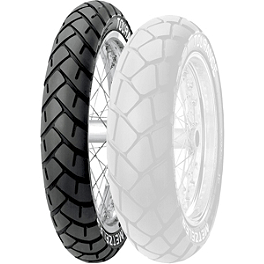 Metzeler Tourance Front Tire - 110/80-19V - Metzeler Roadtec Z8 Interact Rear Tire - 190/50ZR17 O Spec