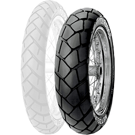 Metzeler Tourance Rear Tire - 130/80-17H - Metzeler Roadtec Z8 Interact Front Tire - 110/80ZR18