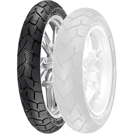 Metzeler Tourance EXP Front Tire - 110/80-19V - Metzeler Roadtec Z8 Interact Rear Tire - 170/60ZR17