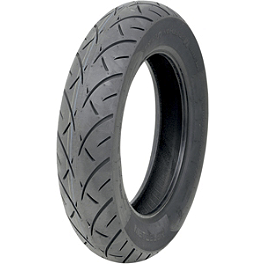 Metzeler Triple Eight Rear Tire - 170/80-15 - Metzeler Lasertec Front Tire - 110/90-18V