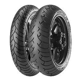 Metzeler Roadtech Z6 Tire Combo - Metzeler Roadtec Z8 Interact Rear Tire - 180/55ZR17