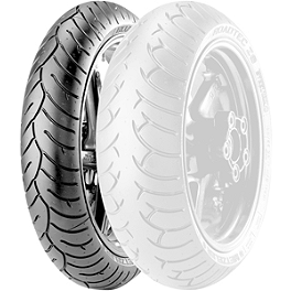 Metzeler Roadtec Z6 Front Tire - 120/60ZR17 - Metzeler Racetec Interact Rear Tire - 180/55ZR17 K1