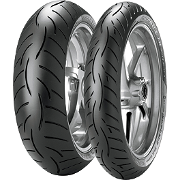 Metzeler Roadtec Z8 Interact Tire Combo - Metzeler Roadtec Z8 Interact Rear Tire - 150/70ZR17