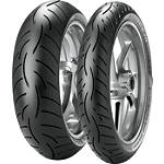 Metzeler Roadtec Z8 Interact Tire Combo - Metzeler Motorcycle Tire Combos