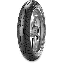 Metzeler Roadtec Z8 Interact Front Tire - 120/60ZR17 - Metzeler Tourance Front Tire - 90/90-21H