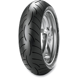 Metzeler Roadtec Z8 Interact Rear Tire - 180/55ZR17 - Metzeler M5 Sportec Interact Front Tire - 120/70ZR17