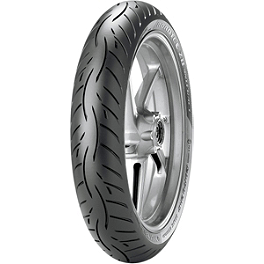 Metzeler Roadtec Z8 Interact Front Tire - 110/80ZR18 - Continental Road Attack 2 Hypersport Touring Radial Front Tire - 110/80ZR18