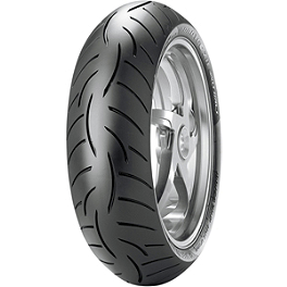 Metzeler Roadtec Z8 Interact Rear Tire - 180/55ZR17 O Spec - Metzeler Tourance Front Tire - 90/90-21H