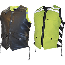 Missing Link D.O.C. Reversible Safety Vest - Olympia Nova 2 Safety Vest