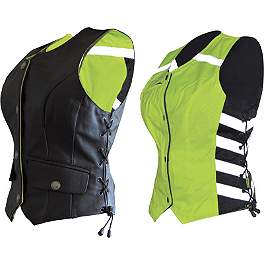 Missing Link D.O.C. Women's Reversible Safety Vest - Icon Women's Corset Reflective Vest