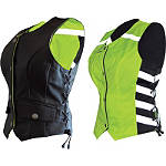 Missing Link D.O.C. Women's Reversible Safety Vest -  Military Approved Motorcycle Jackets & Vests