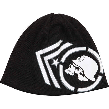 METAL MULISHA PITCH BLACK BEANIE - Main