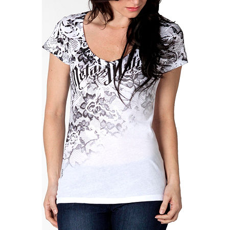 Metal Mulisha Women's Crushed T-Shirt - Main