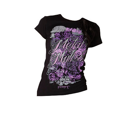 Metal Mulisha Women's Rosette T-Shirt - Main