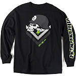 Metal Mulisha Brain Long Sleeve T-Shirt - Metal Mulisha Dirt Bike Mens Casual