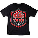 Metal Mulisha Deegan Shield T-Shirt - Mens Casual Motocross Dirt Bike T-Shirts