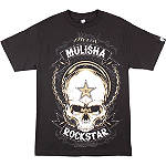Metal Mulisha Skull Rockstar T-Shirt - Mens Casual Motocross Dirt Bike T-Shirts