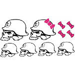 Metal Mulisha 10 Piece Family Sticker Pack - Metal Mulisha Dirt Bike Trim Decals