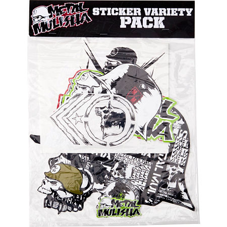 Metal Mulisha 6 Piece Sticker Variety Kit 2 - Main