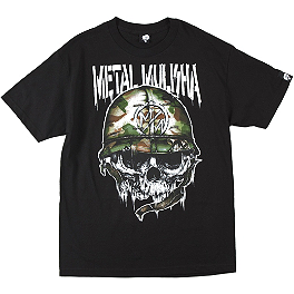 Metal Mulisha War Torn T-Shirt - Metal Mulisha Premier Hoody