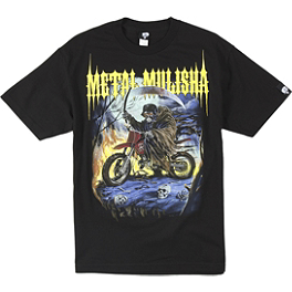 Metal Mulisha Biker Reaper T-Shirt - Metal Mulisha Unseen Boardshorts