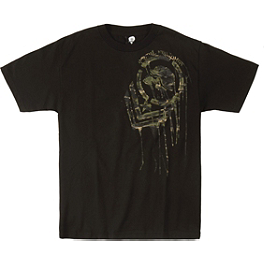 Metal Mulisha Camo T-Shirt - Icon Busted And Broken T-Shirt