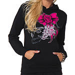 Metal Mulisha Women's So Fly Po Fleece Hoody - Metal Mulisha Dirt Bike Womens Casual