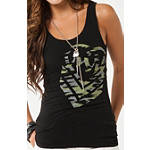 Metal Mulisha Women's Vandal Tank - Dirt Bike Womens Casual