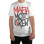 Mafia Moto Crew Sprayed T-Shirt - Mafia Moto Crew Dirt Bike Mens T-Shirts