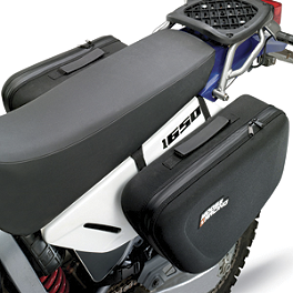 Moose Expedition Saddlebags - Pair - 2006 Honda CR250 Moose Pro Shark Fin With Brake Carrier