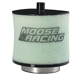 Moose Pre-Oiled Air Filter - 2009 Honda TRX450R (ELECTRIC START) No Toil Twin Stage Air Filter