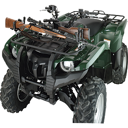 NRA By Moose Pursuit Double Gun Rack - NRA By Moose ATV Gun Or Bow Rack