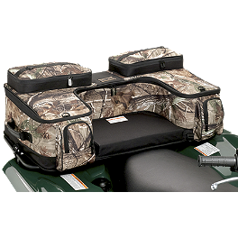 Moose Ozark Rear Rack Bag - Realtree - 2004 Honda TRX450 FOREMAN 4X4 ES Moose 393X Front Wheel - 12X7 4B+3N Black